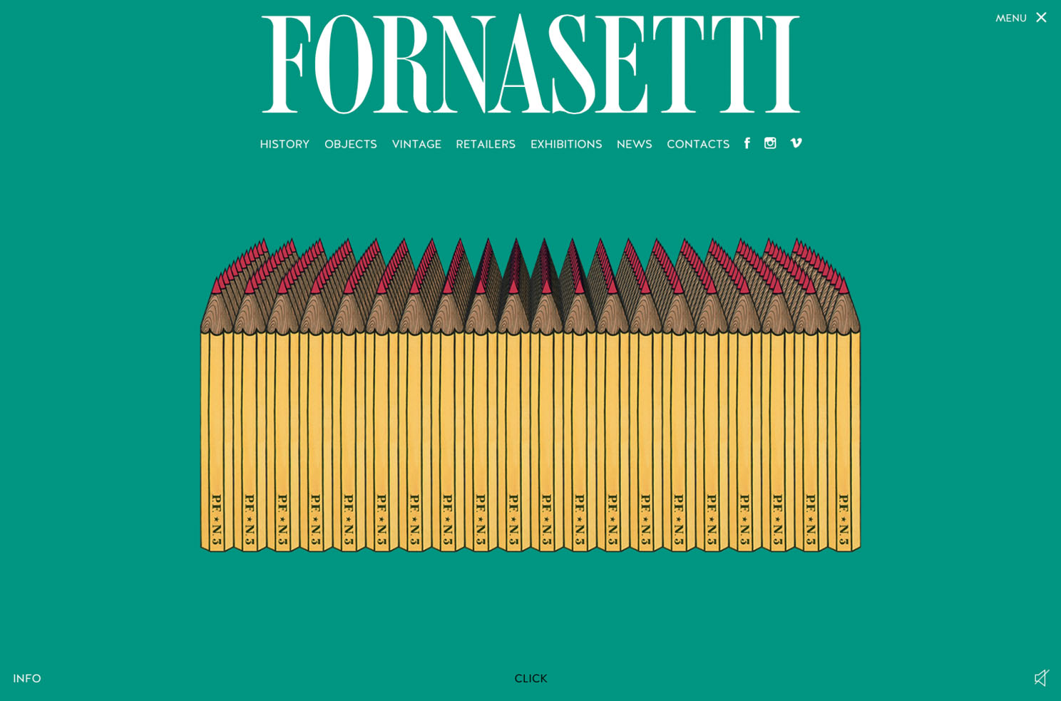 Fornasetti interior design website blog Marvellous agency