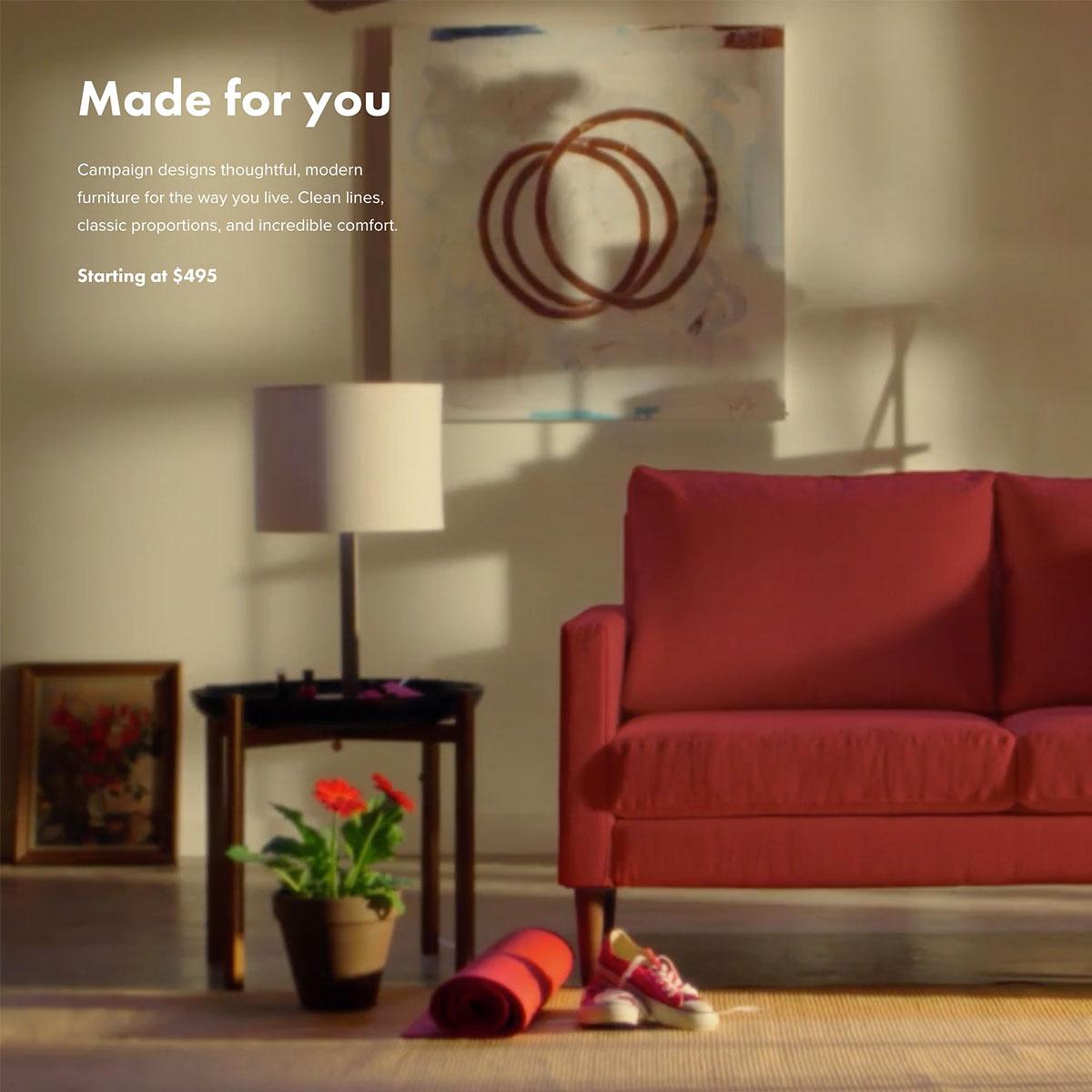 4 fantastic marketing examples marvellous web design for Interior design web app