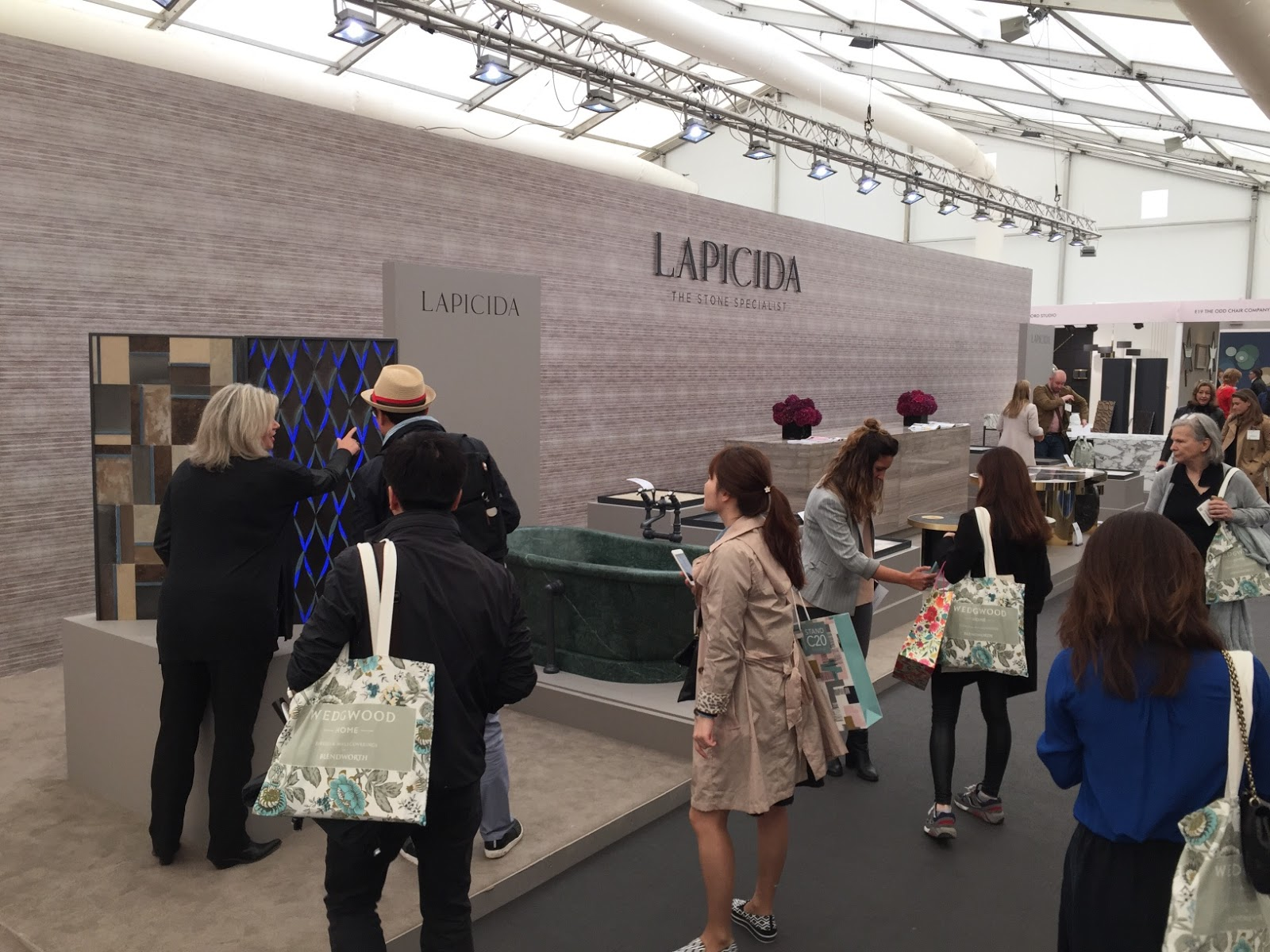 Lapicida stand Decorex 2015 blog Marvellous agency