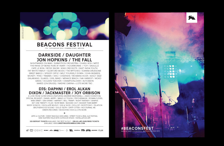 Beacons Festival Leeds Marvellous digital marketing agency