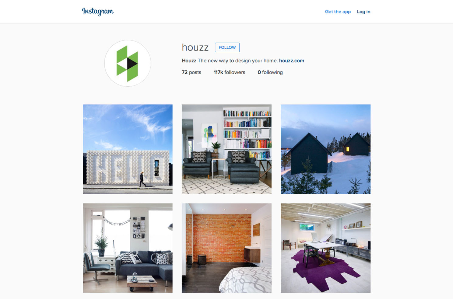 5 amazing interior design instagram accounts you should for Best home decor accounts on instagram