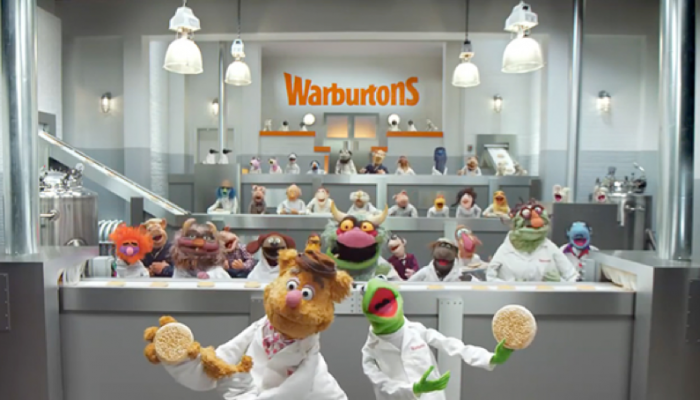 Warburtons muppets advert Marvellous digital marketing agency