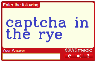 Captcha screen shot Marvellous digital design agency