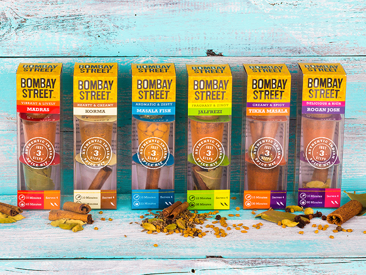 Bombay street packaging done by shaun heath at marvellous web design agency