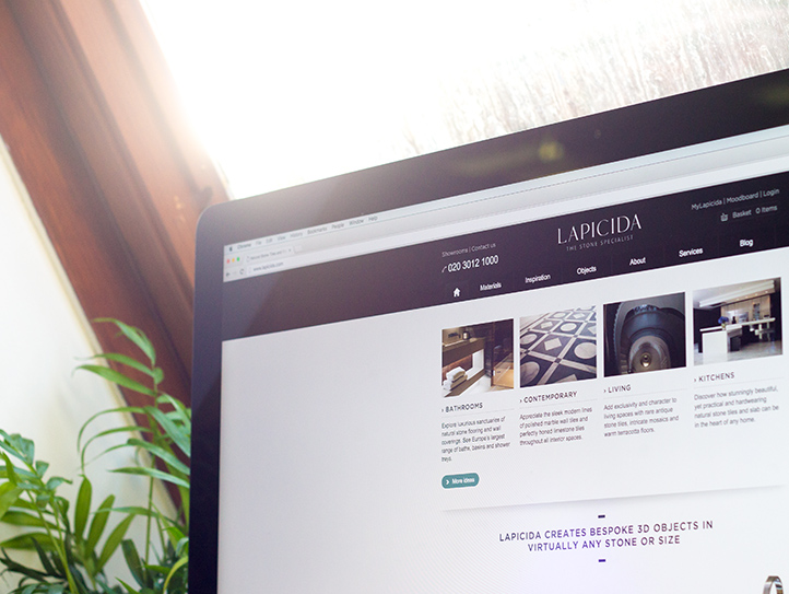 lapicida website design by marvellous website design leeds
