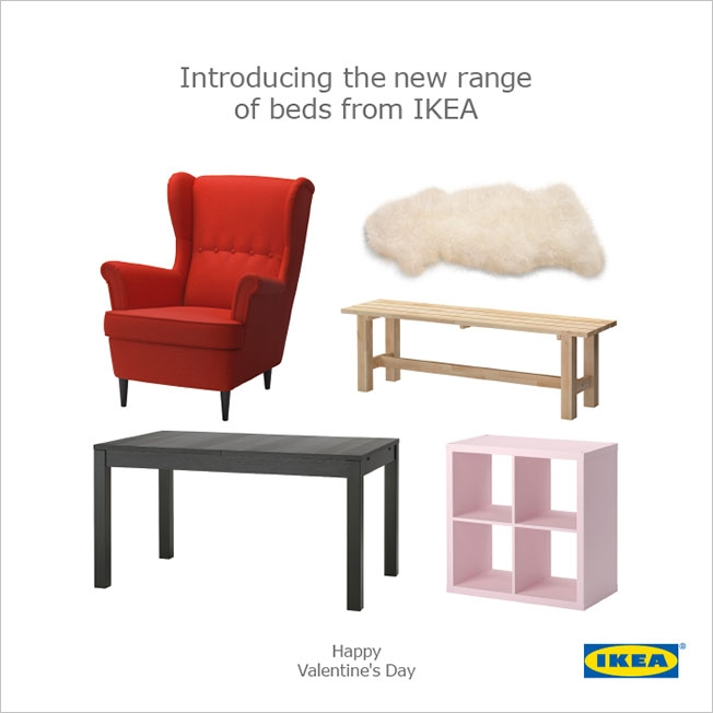 IKEA Valentine's Day Campaign 2015 best Valentine's DAy campaign blog Marvellous agency