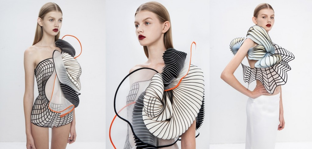 3D fashion pieces Noa Raviv digital trends from fashion week Marvellous