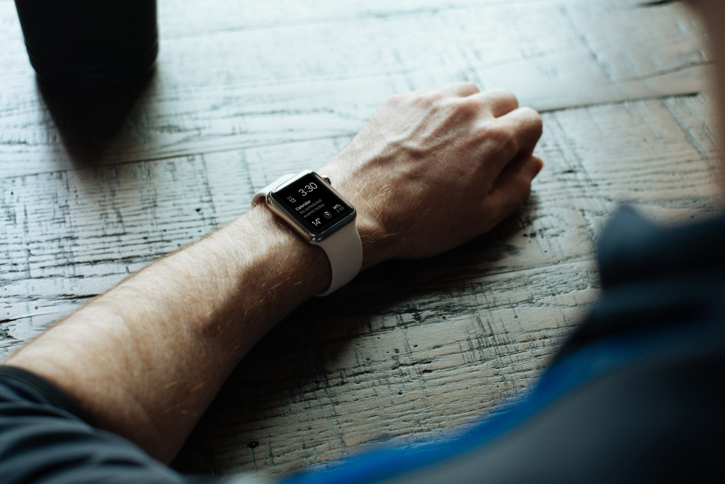 apple iwatch stock photo