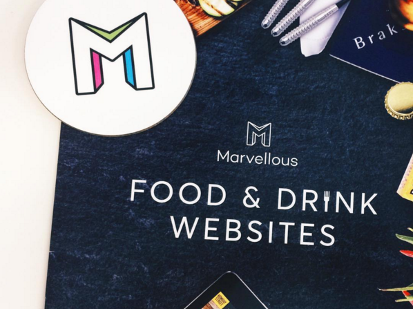 Marvellous Digital Agency food and drink websites brochure