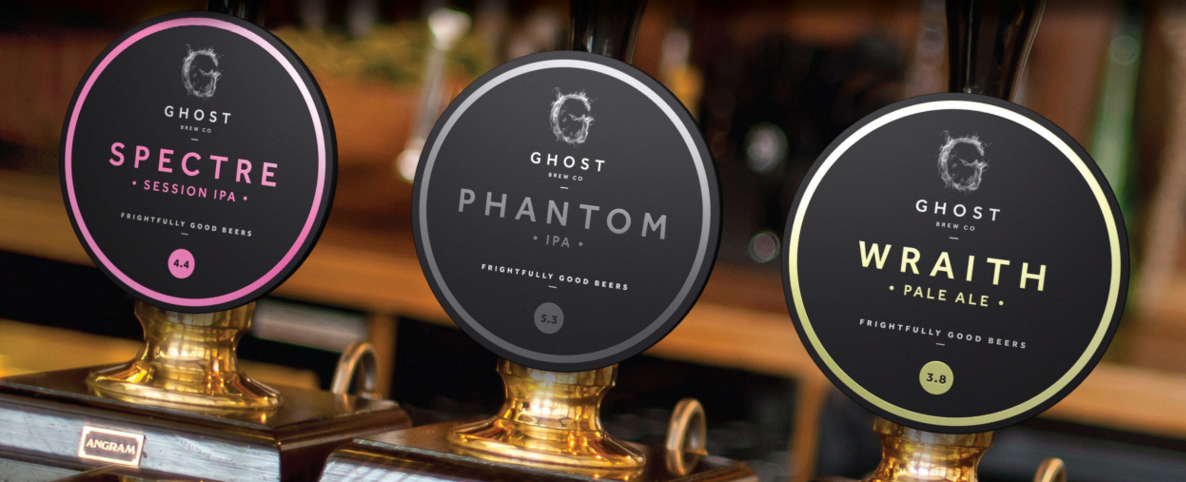 Ghost Brewing pump clips