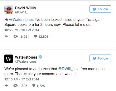 Waterstones Customer Service on Twitter