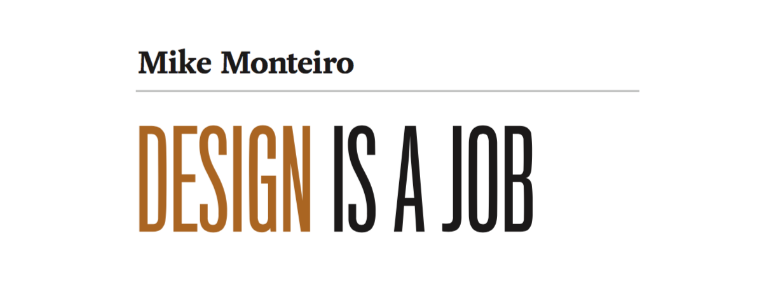 Design is a Job | Mike Monteiro | Design | Digital Agency Leeds