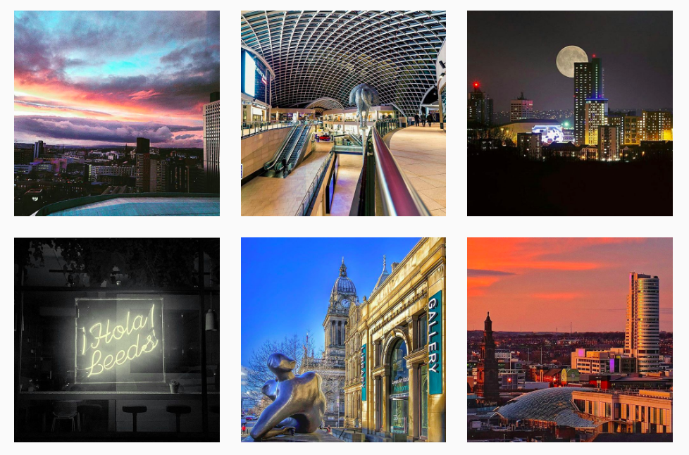 Leeds.Life | Instagram | Marvellous Digital Agency Leeds
