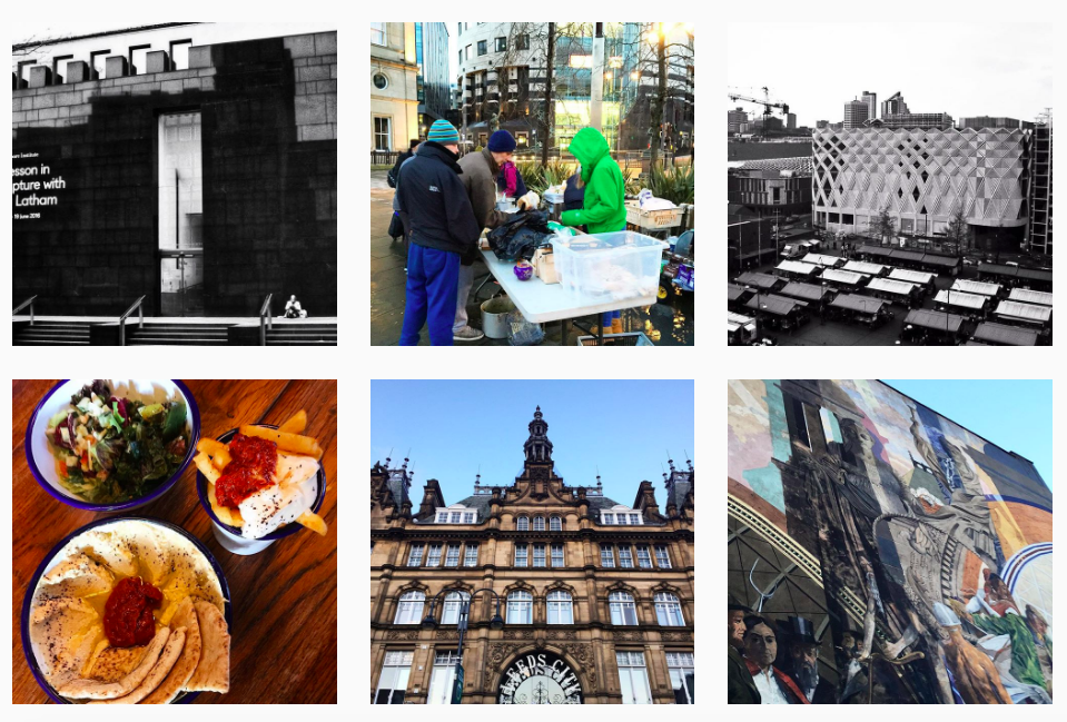Leeds Welcome Instagram