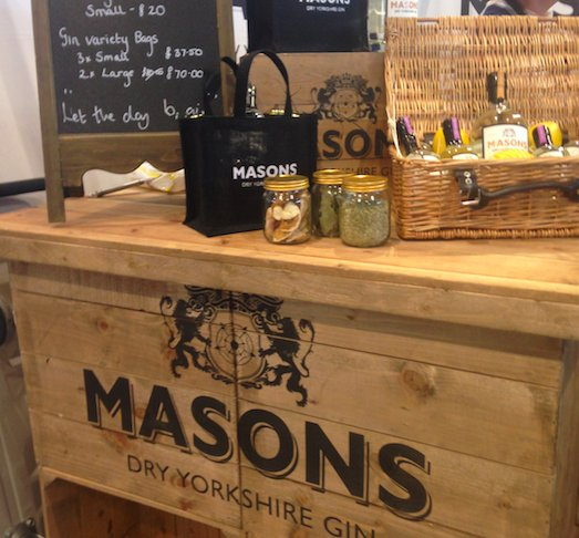 Masons Gin | Great Yorkshire Show | Marvellous Digital Agency