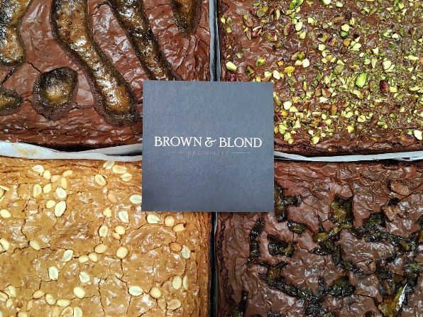 Brown and Blond Brownies | Great Yorkshire Show | Marvellous Digital Agency