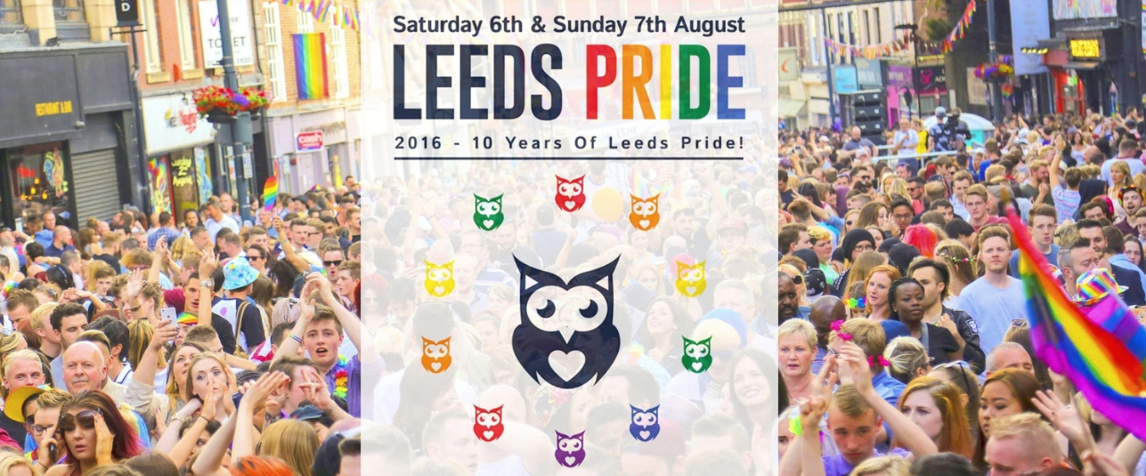 Leeds Pride | Marvellous Digital Agency