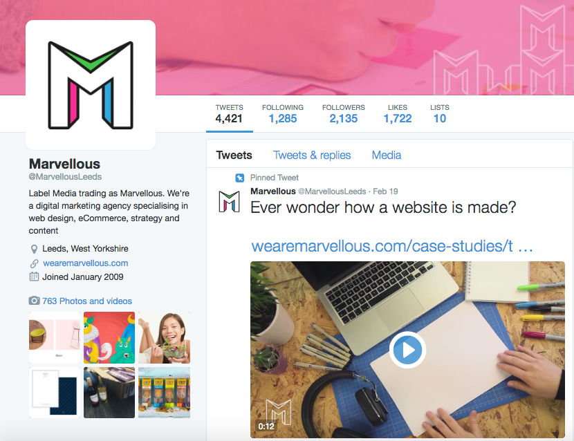 Twitter | Social Media Platforms | Marvellous Digital Agency
