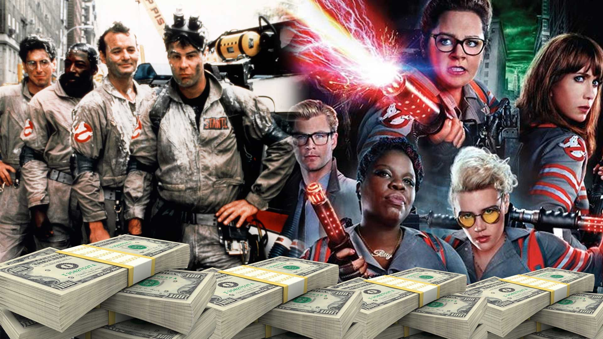 Ghostbusters 1984 Vs 2016 Marvellous Digital Agency Marvellous