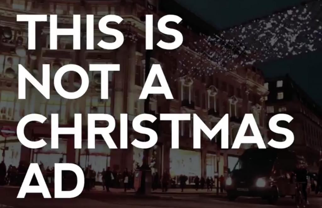 The campaign of Christmas: Stop Funding Hate