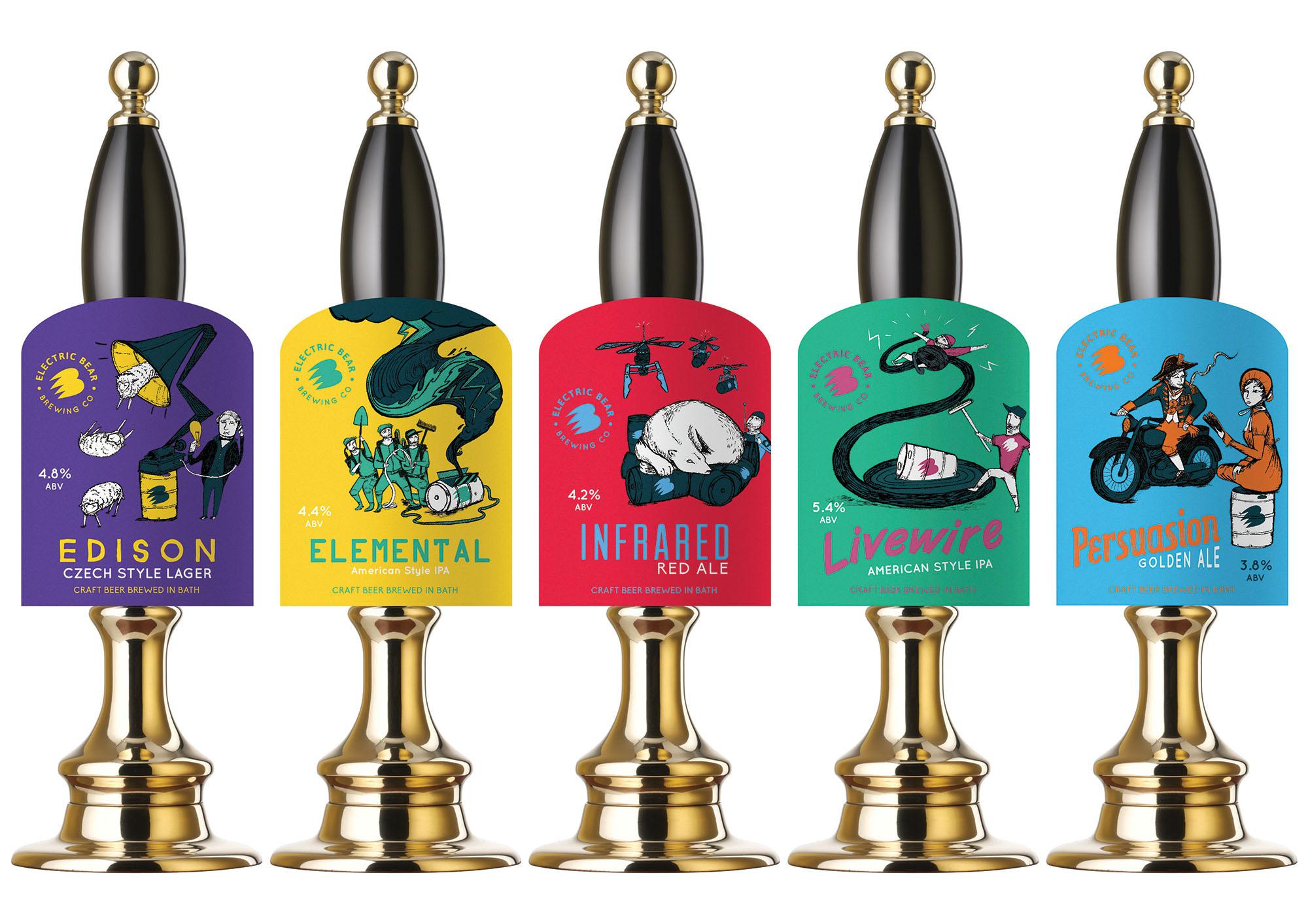 Electric Bear Brewery | Branding in Breweries | Marvellous Digital Agency