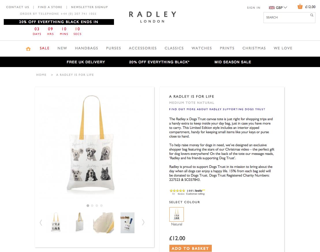 Radley | Magento | Marvellous Magento Development Leeds