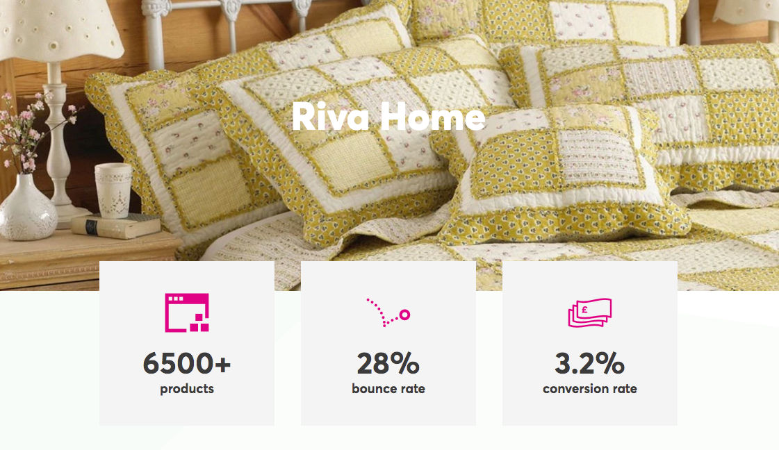 Riva Home | Soft Furnishings | Marvellous Digital Agency