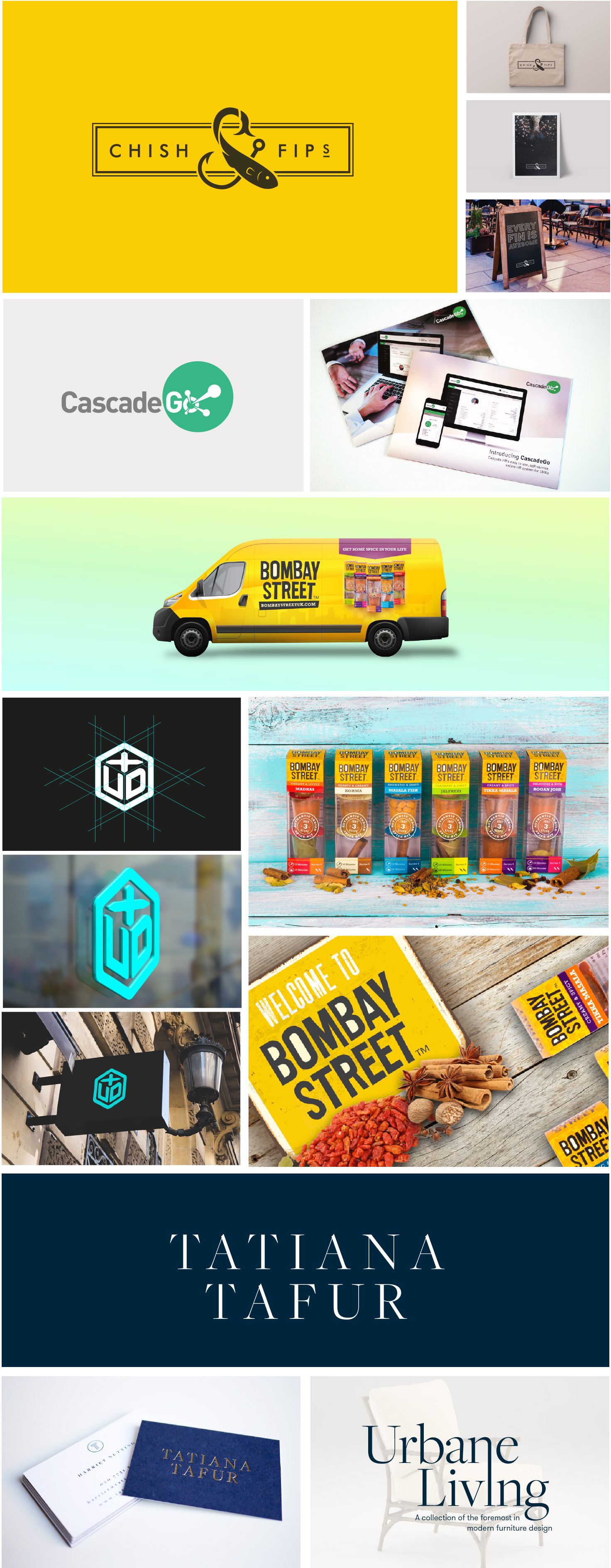 Marvellous branding showcase