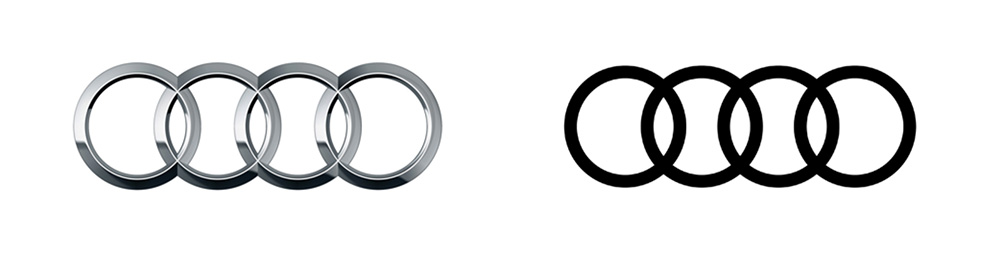 Audi rebrand