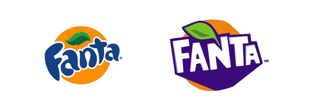 Fanta rebrand